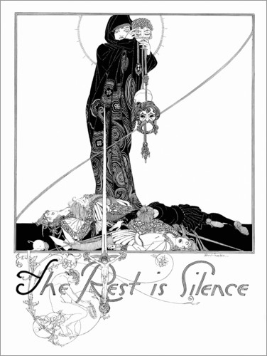 Poster The rest is silence