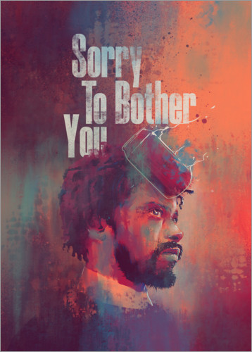 Poster Sorry To Bother You