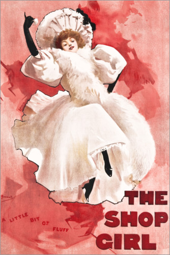 Poster The Shop Girl
