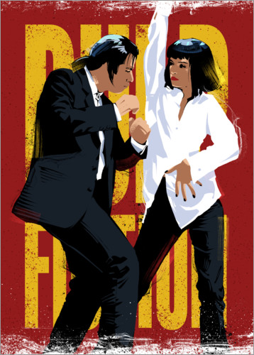 Poster Pulp Fiction Danse