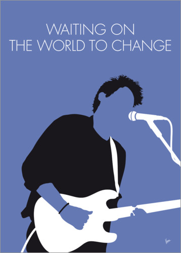 Poster John Mayer, Waiting on the world to change