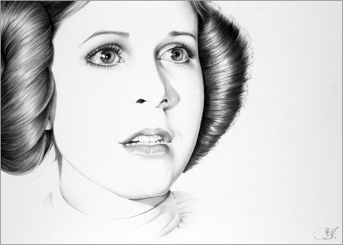 Poster Carrie Fisher