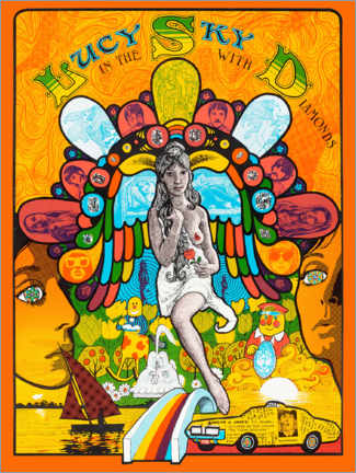 Poster  Lucy In The Sky With Diamonds - Entertainment Collection