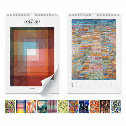 Calendrier mural  Paul Klee, Colours 2021 - Paul Klee