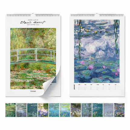 Calendrier mural  Claude Monet, Water Lilies 2021 - Claude Monet