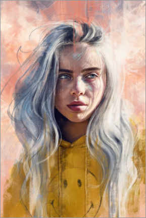 Poster  Billie Eilish - Dmitry Belov