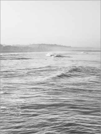 Poster  Vagues douces - Magda Izzard