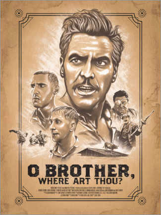 Poster O Brother, Where art thou