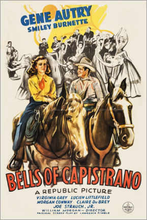 Poster  Bells of Capistrano - Entertainment Collection