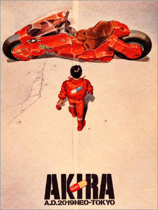 Tableau en verre acrylique  Akira - Entertainment Collection