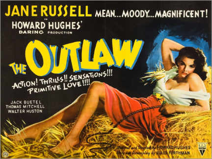 Poster  The Outlaw - Entertainment Collection