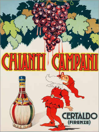 Sticker mural  Chianti Campani - Advertising Collection