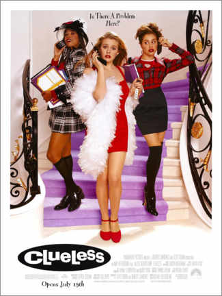 Poster  Clueless (anglais) - Entertainment Collection