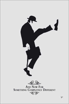 Tableau en verre acrylique  Ministry of Silly Walks - chungkong