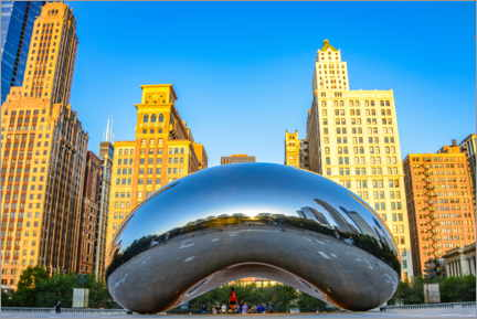 Poster Cloud Gate, Chicago