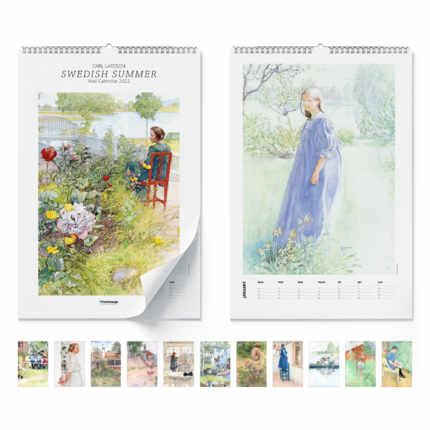 Calendrier mural  Swedish Summer 2021 - Carl Larsson