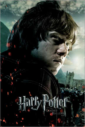 Poster  The Deathly Hallows II - Ron