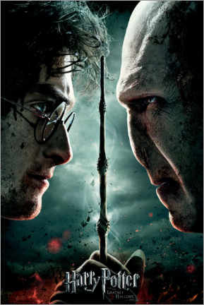 Tableau sur toile  The Deathly Hallows II - Duel