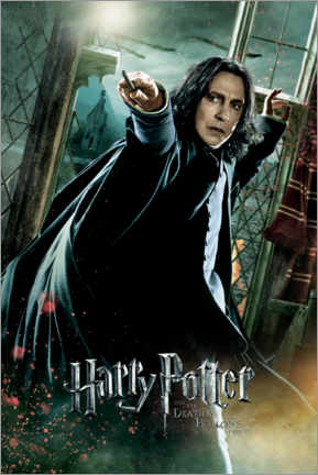 Poster  The Deathly Hallows II - Severus Snape Duel