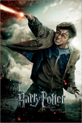Sticker mural  The Deathly Hallows II - Harry Potter Duel