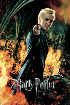 Poster The Deathly Hallows II - Draco Malfoy