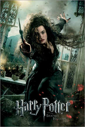 Poster  The Deathly Hallows II - Bellatrix Lestrange