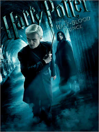 Sticker mural  The Half-Blood Prince - Draco & Snape