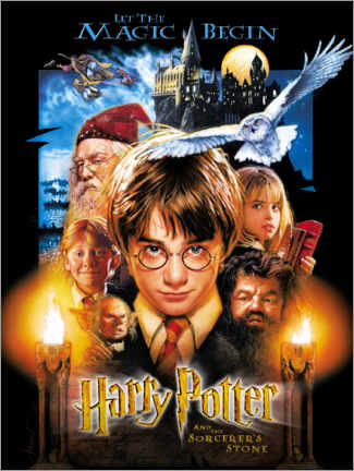 Tableau en PVC  Harry Potter and the Sorcerer's Stone