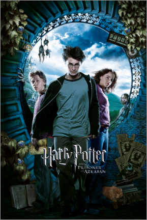 Poster  The Prisoner of Azkaban - Trio