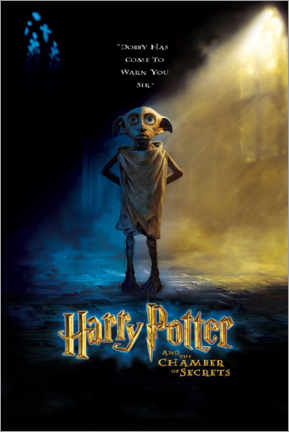 Tableau sur toile  The Chamber of Secrets - Dobby
