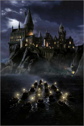 Poster  Harry Potter and the Philosopher's Stone, Hogwarts