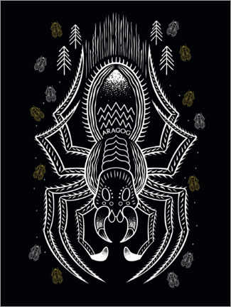 Poster  Harry Potter - Aragog