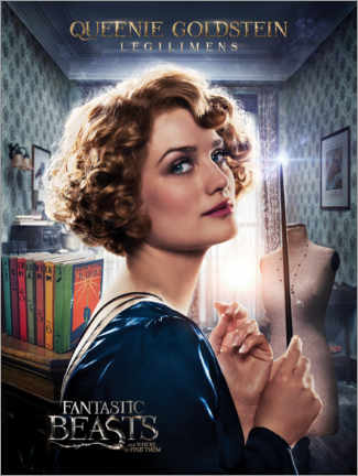 Poster  Fantastic Beasts and Where to Find Them - Queenie Goldstein