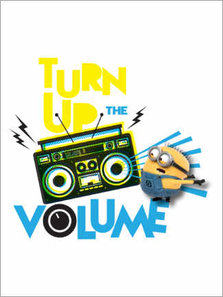 Poster  Minions - Turn up the volume