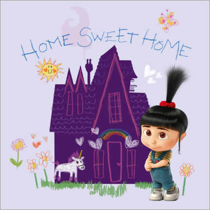 Poster  Agnes - Home sweet home
