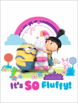 Tableau en bois  Agnes - It's so fluffy!