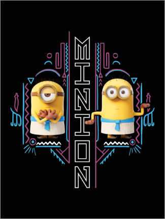 Poster  Minions égyptiens