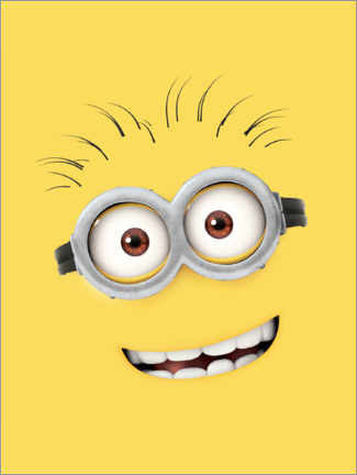 Poster  Silly Minion Face