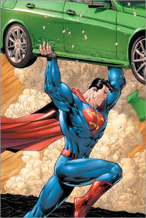 Poster  Superman - super powerful