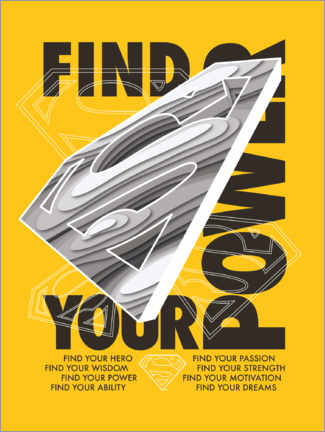 Poster  Superman - Find Your Power