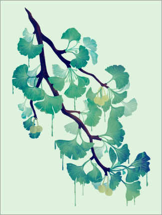 Poster O ginkgo