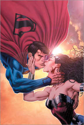 Poster  Superman and Wonder Woman
