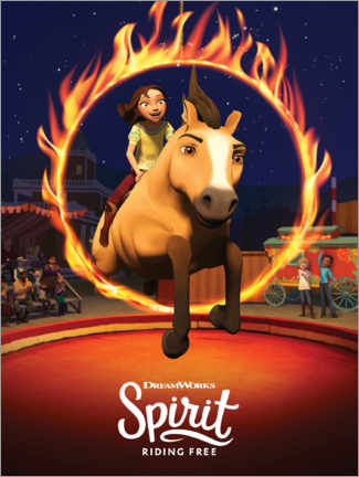 Poster  Spirit Riding Free - Manège