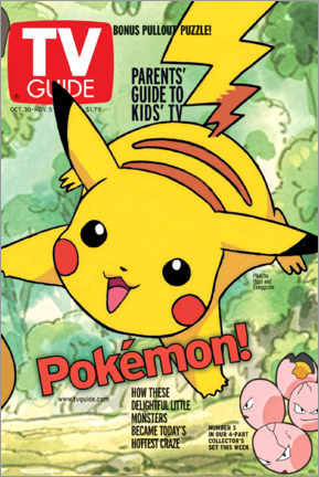 Poster  Pokémon - Pikachu - TV Guide