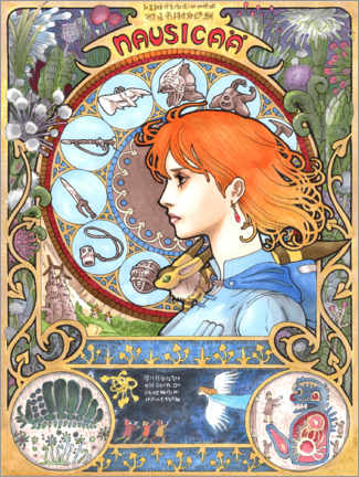 Poster  Nausicaä of the Valley of the Wind