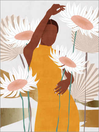 Poster  Sun Kissed Woman II - Melissa Wang