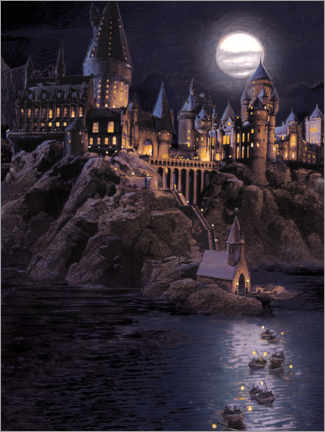 Poster  Harry Potter - Boats to Hogwarts