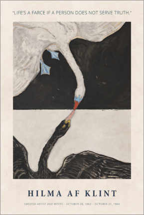 Poster  Hilma af Klint - Serve truth - Museum Art Edition