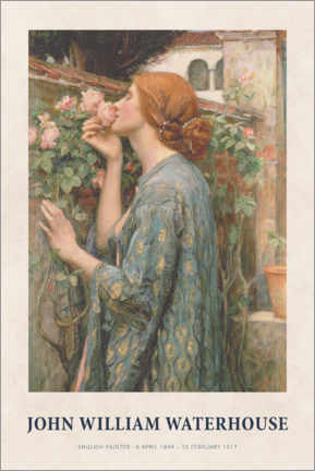Poster  John William Waterhouse - The Soul of the Rose - Museum Art Edition