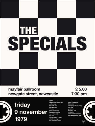 Poster The Specials Concert Poster